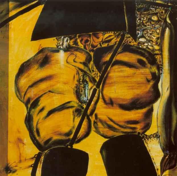 Kiep olej na płótnie, 1972