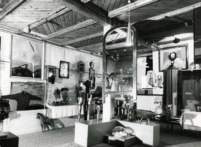 Prywatna część galerii Władysława Hasiora
