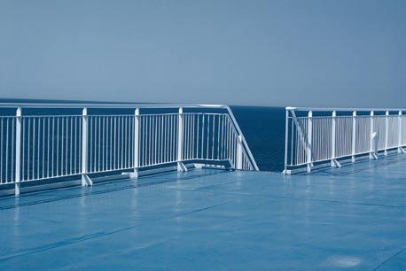 Błękitna pustka, 100 x 70 cm